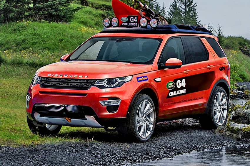 land rover discovery sport forum view single post roof rail safari lights available where. Black Bedroom Furniture Sets. Home Design Ideas