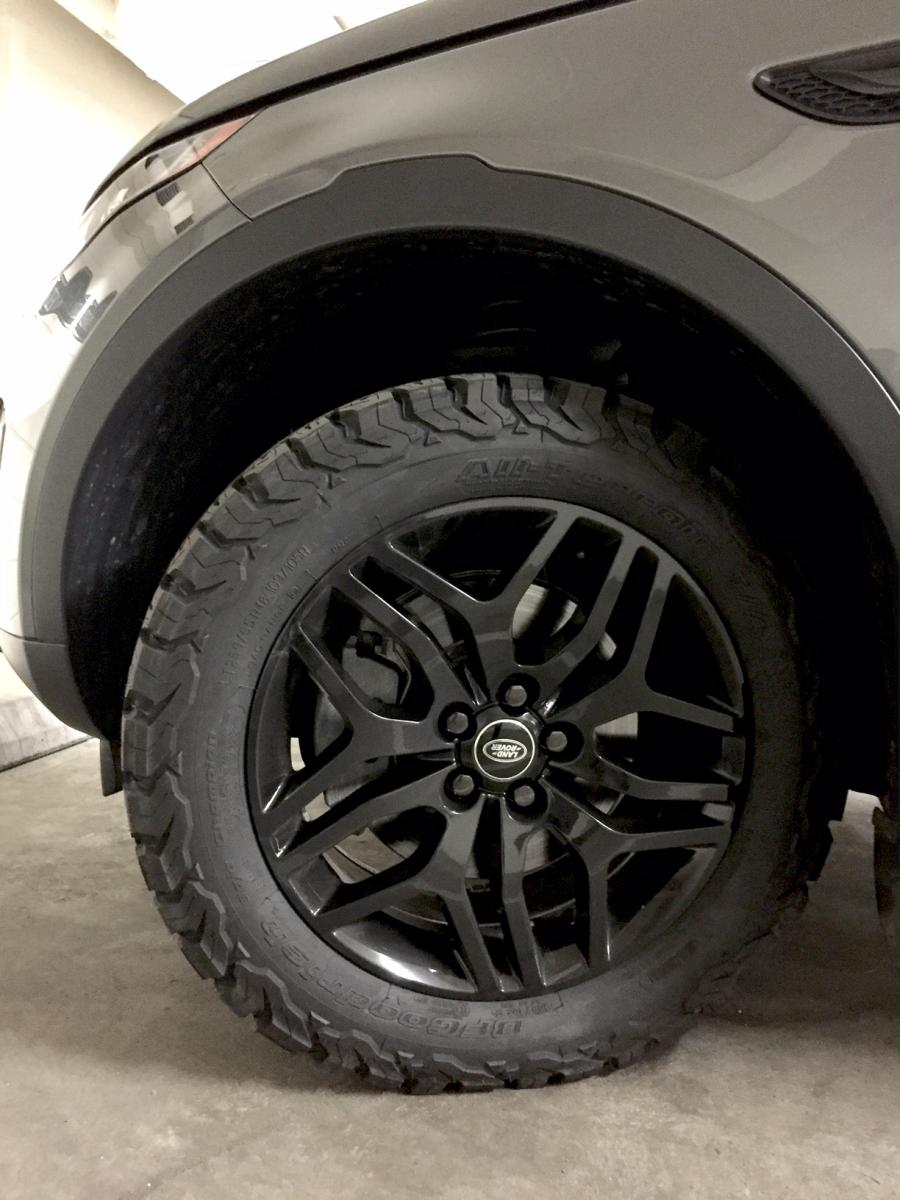 Land Rover Sport >> All Terrain Setup with 18x8 and KO2 - Page 2 - Land Rover ...